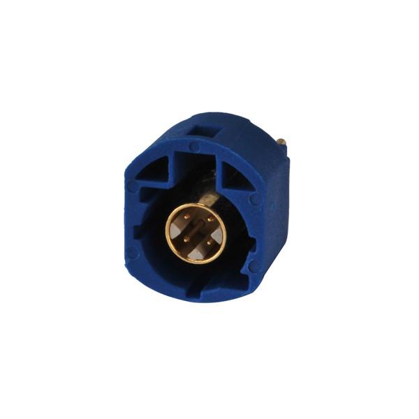только факра с женский джек печатного монтажа прямой 4 контактное контактный разъем для телематики или синий для GPS навигации