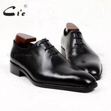 Cie/мужские кожаные туфли с квадратным носком, полностью выполненные на заказ; Мужские модельные туфли-оксфорды ручной работы; Коллекция года; дышащие туфли из телячьей кожи; OX401