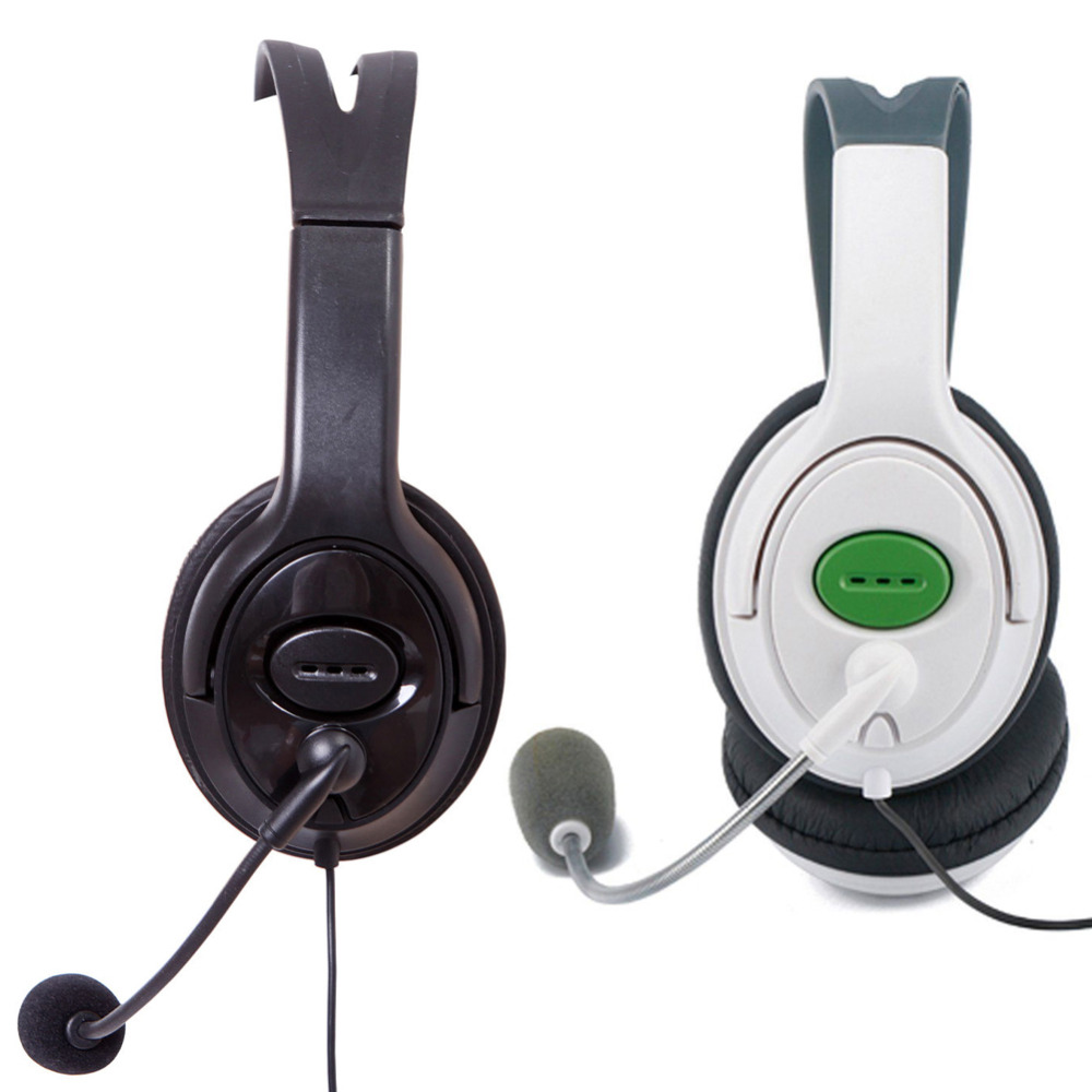 Professional Wired Gamer Headphone Classic Stereo Game Headset Earphone 3.5mm AUX Game Headphone with Microphone for XBOX 360 rock y10 stereo headphone microphone stereo bass wired earphone headset for computer game with mic