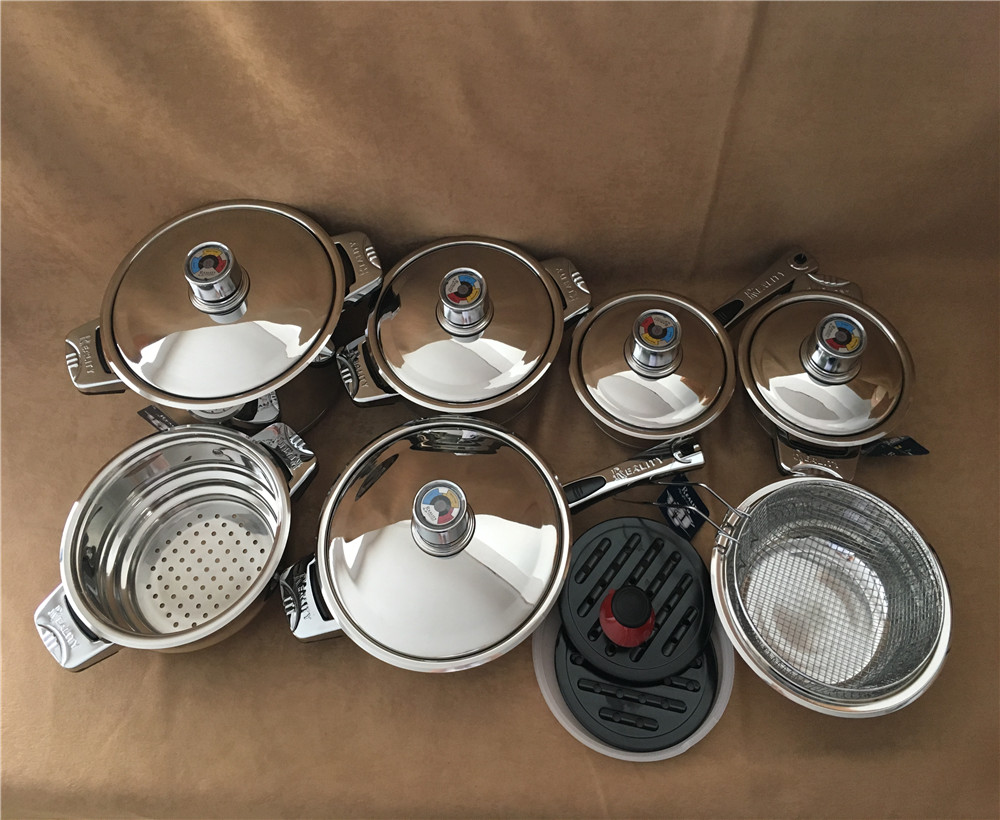 Online Shop for cookware set stainless steel Wholesale with Best Price