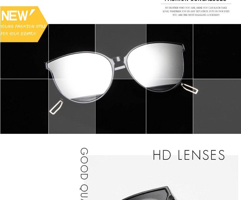 RBROVO Gafas de sol mujer vintage 5