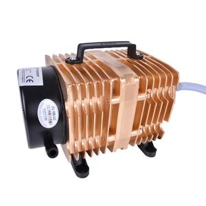 Image 3 - Bomba de aire electromagnética para acuario de peces, bomba de aire de compresor de oxígeno, 145L /min, 0.040Mpa, 160W, CA 220 V