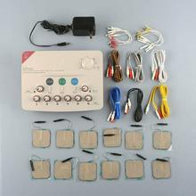 Hwato SDZ 6 قنوات الناتج آلة تدليك التردد المنخفض دعم 110 220 فولت أو البطارية