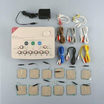 Hwato SDZ 6 kanałów wyjście niska częstotliwość urządzenie do masażu obsługuje 110-220V lub baterię tanie i dobre opinie Meridian aparat terapeutyczny sdz 2 blessfun