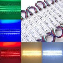20 шт водонепроницаемые светодиодные модульные лампы smd5050
