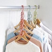 Многофункциональная вешалка для одежды с 4 отверстиями, сушилка для одежды, пластиковые вешалки для шарфов и пальто, крючки для гардероба, вешалки для хранения одежды
