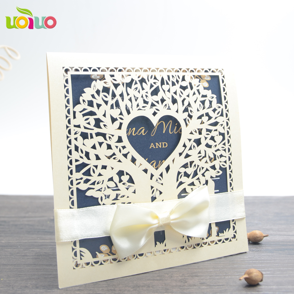 Inc117 hot made in China gift wedding invitation for wholesale and ...