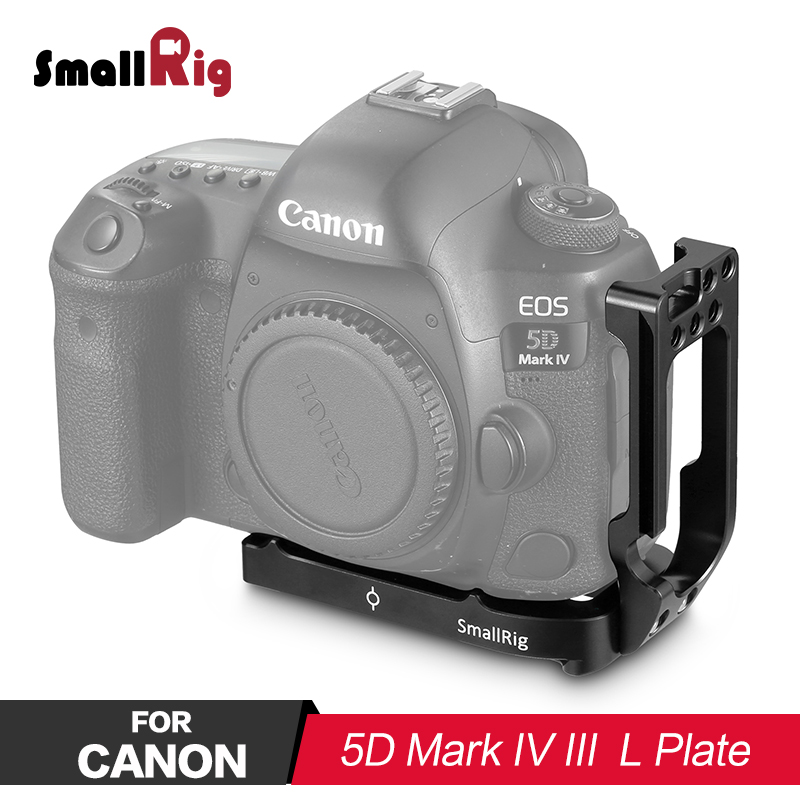 купить SmallRig L Bracket for Canon 5D Mark IV III L Plate Quick Release 2202 по цене 4039.05 рублей