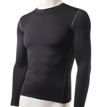 Velvet Winter Men Thermal Underwear Tops Thick 2018 Warm Compression Long Sleeve T-Shirts Tight Shirt For Man 3