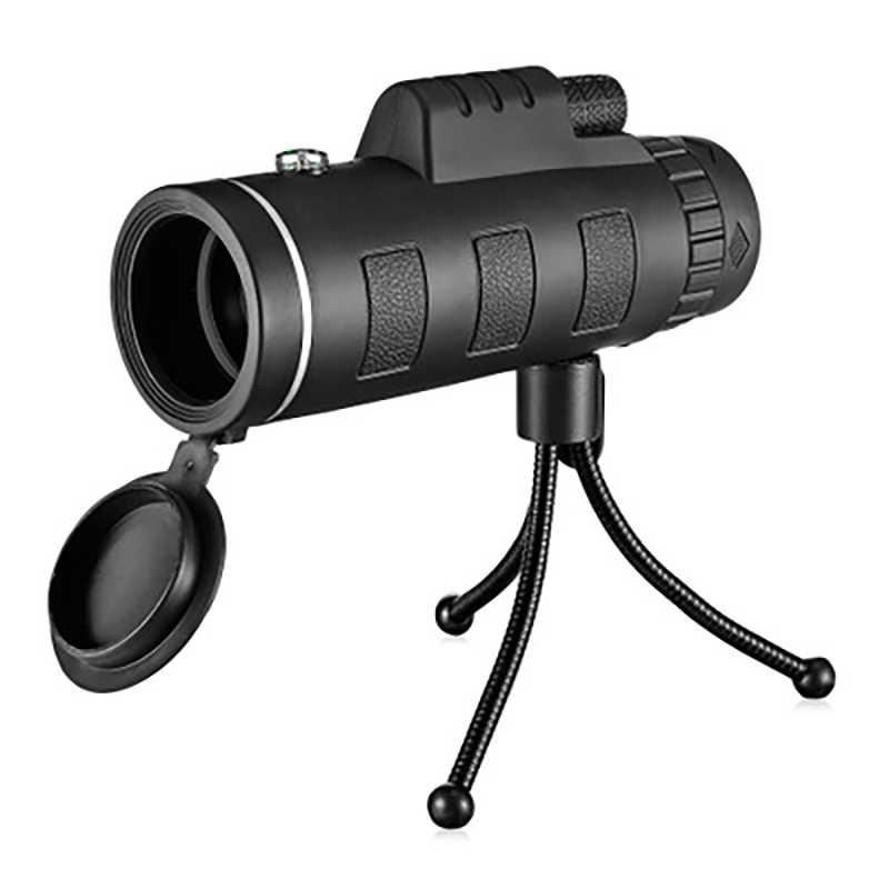 Nanoo HD 40X60 Zoom monoculaire télescope professionnel chasse Camping randonnée avec trépied boussole