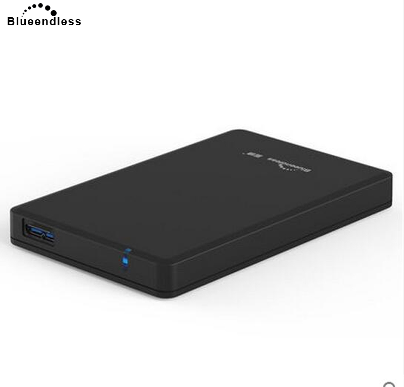 Blueendless external 250G hard drive sata HDD PC USB 3.0 laptop hard disk with tool free protect hdd case MR23P blueendless tool free hdd box 2 5 sata hdd externo external hard drive case 2 5 hard disk case plastic hdd case 2 5 usb 3 0