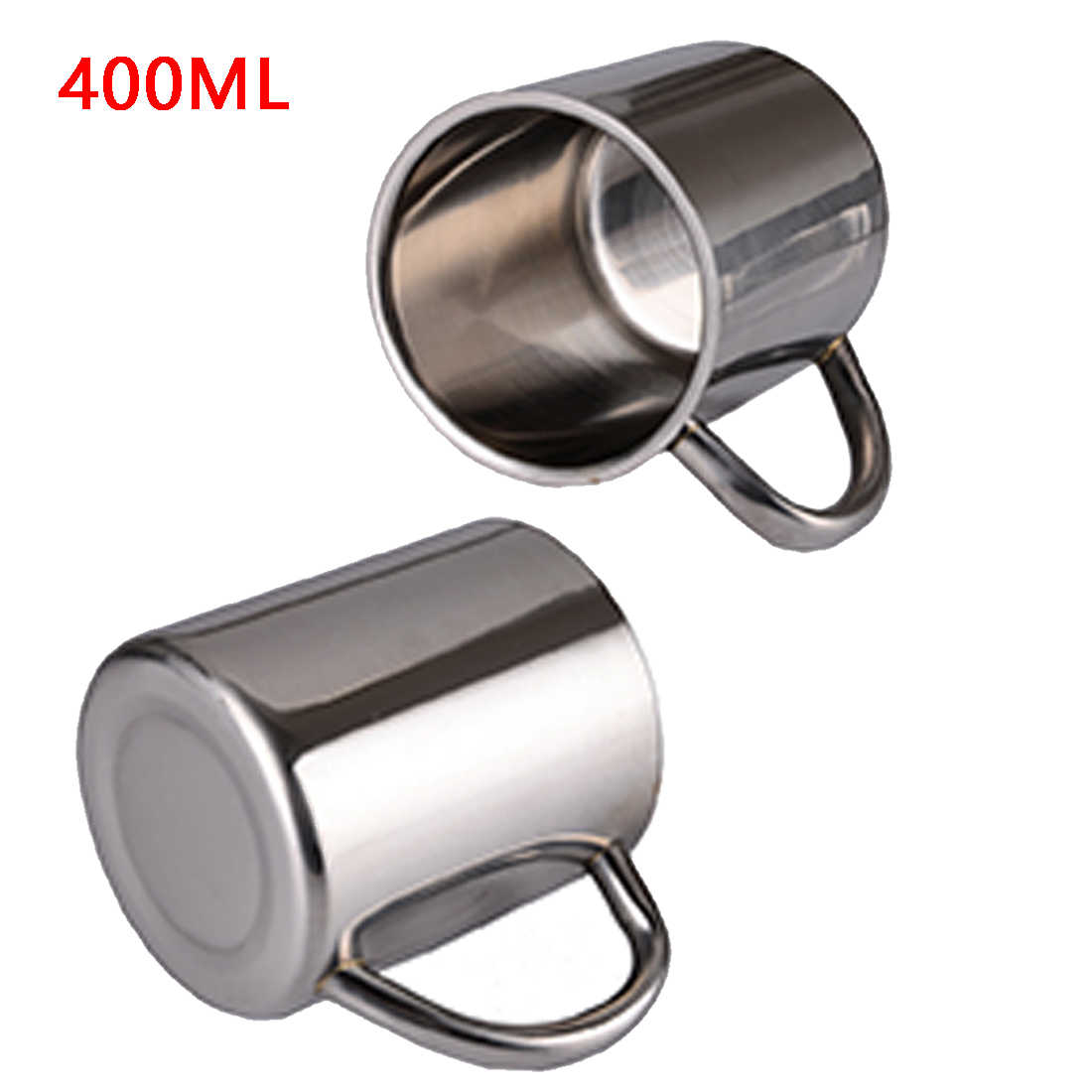 Hot Sale 220ml 300ml 400ml Stainless Steel Portable Mug Cup Double Wall Travel Tumbler Coffee Mug Tea Cup