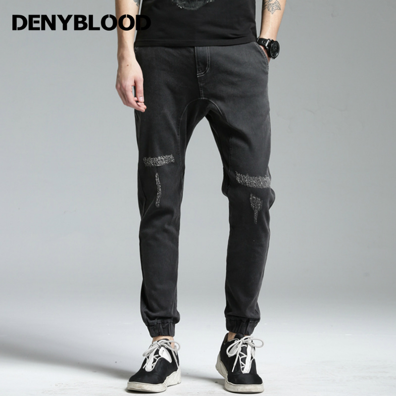 Popular Black Distressed Jeans-Buy Cheap Black Distressed Jeans ...