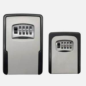 Boxes Safe-Storage Secret-Organizer Hidden Home Spare-Keys Metal Password 4-Digit
