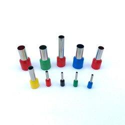 Клеммный блок с изолированными наконечниками, 100 шт./упак. E0508 E7508 E1008 E1508, Электрический обжимный провод, коннектор