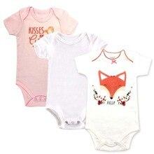 Baby Bodysuit Newborn Print Body Suit Fashion Summer Children Girl Boy Long Sleeve Toddler Jumpers Infant