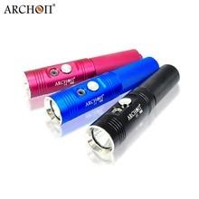 Professional ARCHON V10S Diving Flashlight  Cree XM-L 1000 Lumens 60M Underwater Torch  Flashlight by 18650 Battery