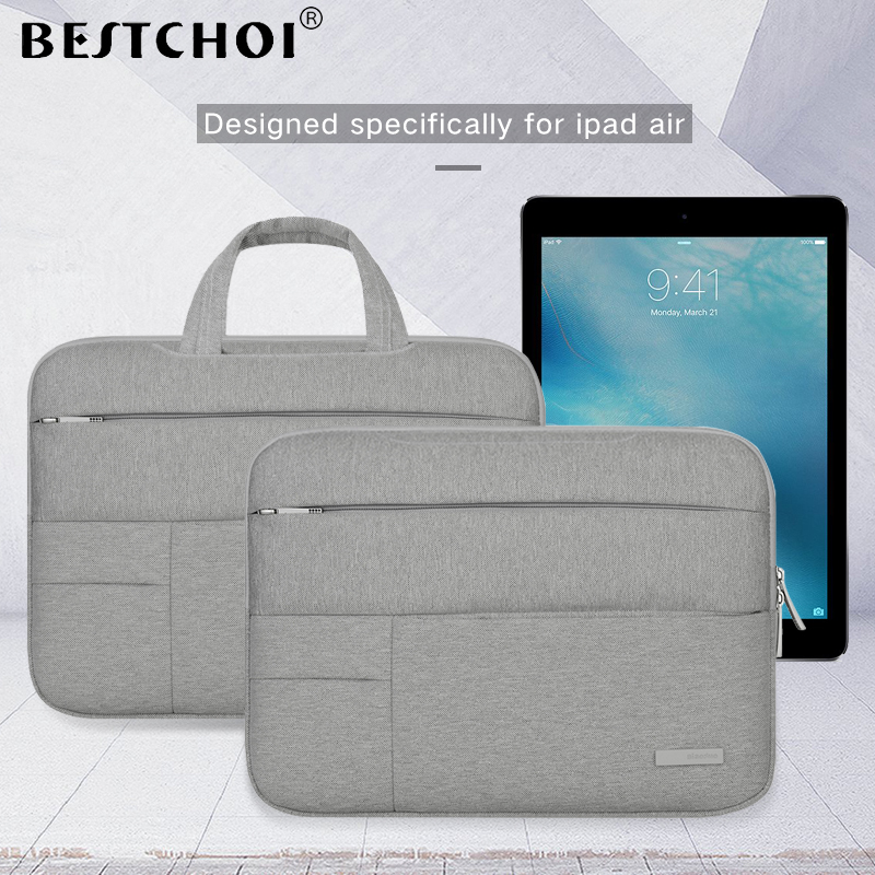 2018 BESTCHOI Tablet Bag Sleeve Case for Apple iPad Pro 9.7 10.5 12.9 Universal Case Shockproof Pouch Bag for iPad Air 1 2 Case new brand bubm case for ipad air pro 9 7 storage bag for ipad mini tablet 7 9 pouch for 7 9 tablet free drop ship