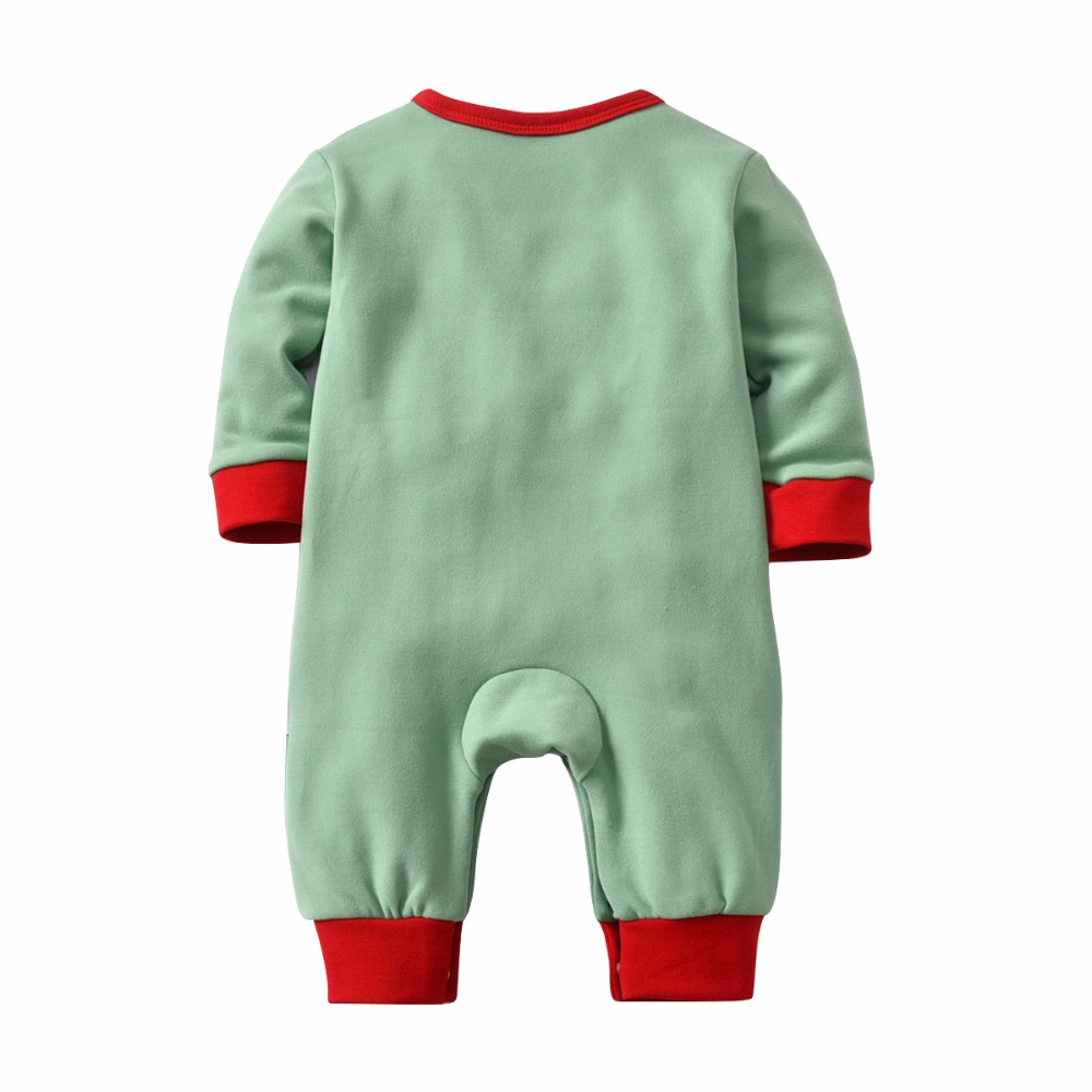 HTB1waDfh3ZC2uNjSZFnq6yxZpXaC - Christmas Santa Claus Girls Costume Jumpsuit Autumn Winter Kids Climbing Romper thickening Jumpsuit hat baby Boy onesies pajamas