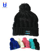 Bluetooth Music Hats Soft Warm Beanie Cap with Stereo Headphone Headset Speaker Wireless Microphone gifts for Valentine's MZ017