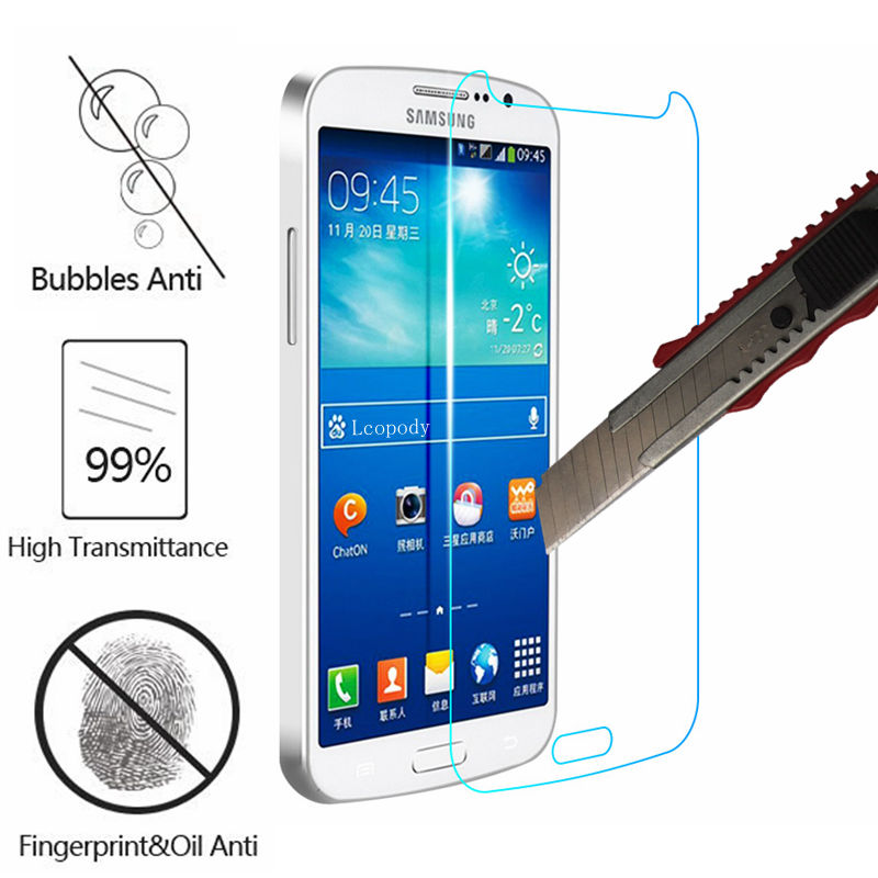 Tempered glass screen protector For Samsung Galaxy Grand 2 II Duos glas SKLO for samsung G 7102 7105 7106 7108 7109 G7106 G7102 image