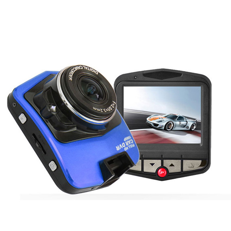 Mini Car DVR Full 2.4 inch HD 1080P Video Camera Recorder G-sensor Night Vision Dash Cam 140 Degree Lens support 32GB TF