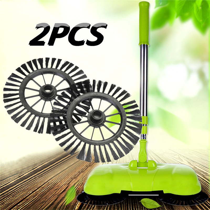 2PCS Hand Push Broom Brush Head Vacuum Cleaner Home Appliance Parts Durable in Use Excellent Quality rajat singh appliance in pediatric dentistry