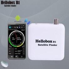 Hellobox B1 Satellite Finder Support système Android Satellite mètre Bluetooth Satellite Finder mètre