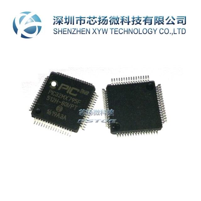 Xing YANG Electronic nuevo ORIGINAL PIC32MX795F512H 80I/PT PIC32MX795f PIC32MX795F512H envío gratuito de QFP