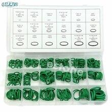 Высокое качество резины 270 шт. 18 размеров уплотнительное кольцо комплект зеленый метрическое уплотнительное кольцо нитрил APR18