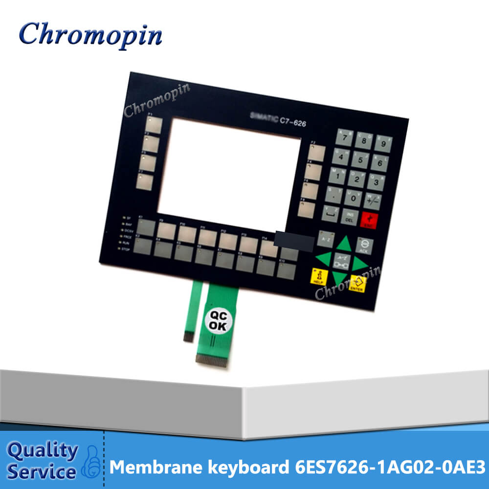 Membrane keyboard for 6ES7626-1AG02-0AE3 6ES7 626-1AG02-0AE3 C7-626 membrane keyboard for 6es7633 2se00 0ae3 6es7 633 2se00 0ae3 6es7633 2df00 0ae3 6es7 633 2df00 0ae3 c7 633