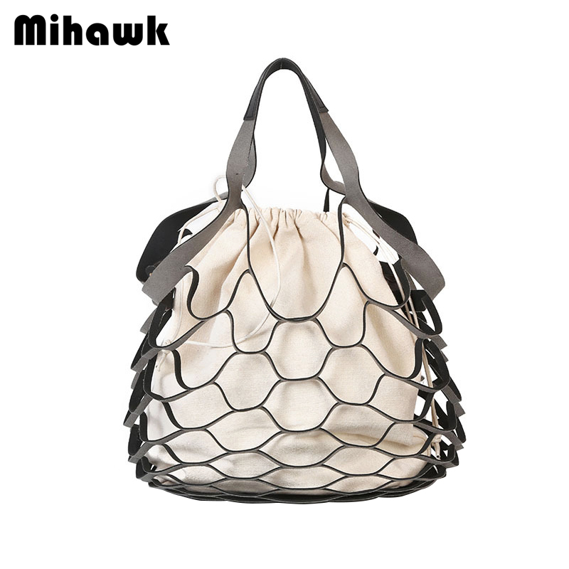 Mihawk Portable Handheld Shopping Bags Reusable Canvas Durable Multifunction Grocery Pouch Storage Tote Organizer Supply Product mihawk women s fashion animal portable handbags shoulder pouch messenger pouch storage belongings organizer accessories products