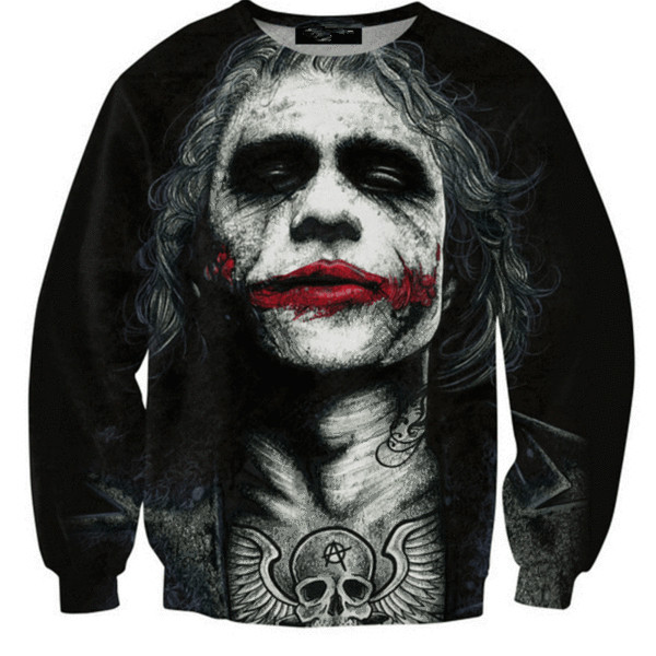 2017 Jack Creative 3D Print Hoodies Men Zoombie Sweatshirt Pullover Fashion Men Sportswear Casual Sportsman Wear S-5XL R2527