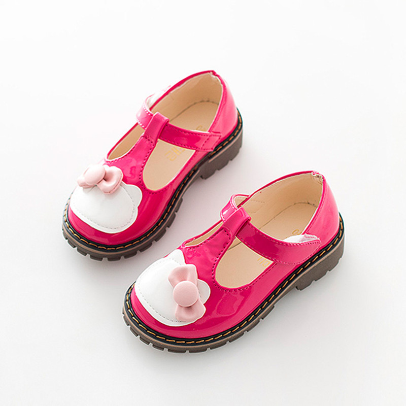 Children shoes princess girls shoes fashion cartoon girls single female soft bottom shoes lovely child