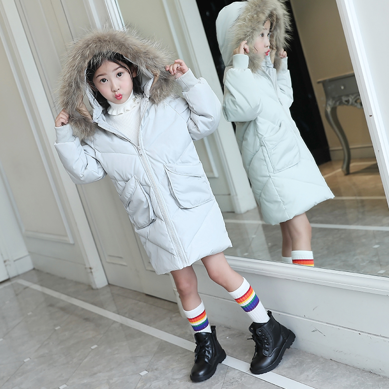 2017Girl down Jackets Coats For winter warm baby girl Down Outerwear & Coats Kids jacket Children Outerwears for cold winter 2017 new girls winter jacket down jackets coats warm kids baby thick duck down jacket children outerwears cold winter 30degree