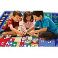 Big Large Family Fun Toys for Children Boys Girls Infant Baby Crawling Mat Aeroplane Chess Single Sided Game Pad FL
