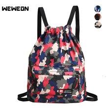 129c407888 Weweon Camouflage Outdoor Women Sports Nylon Drawstring Storage Bag for Men  Hiking