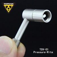 Topeak TSV-01 Давление-rite для Шредера Клапаны адаптер для маленькие колеса/задний амортизатор/airspring Вилки с внутренним обратный клапан