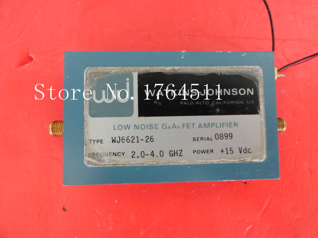 [BELLA] WJ WJ6621-26 2.0-4.0GHz Vin:15V SMA Supply Amplifier