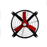 220V 120W Industrial Blower High Power Round Exhaust Fan Kitchen Factory Shopping Mall Exhaust Fan 16 inch 4800m3/h