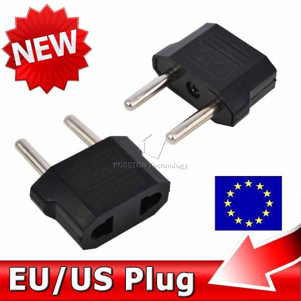 5pcs US to EU AC Power Plug Home Travel Converter Universal AU US UK Europe Wall charger Jack Connector Socket Adapter Adaptor
