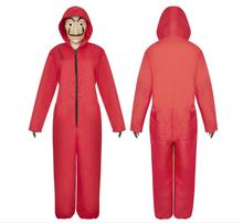 Movie La Casa De Papel Salvador Dali Costume The House of Paper Cosplay Playing Party Halloween Money Heist XS-2XL