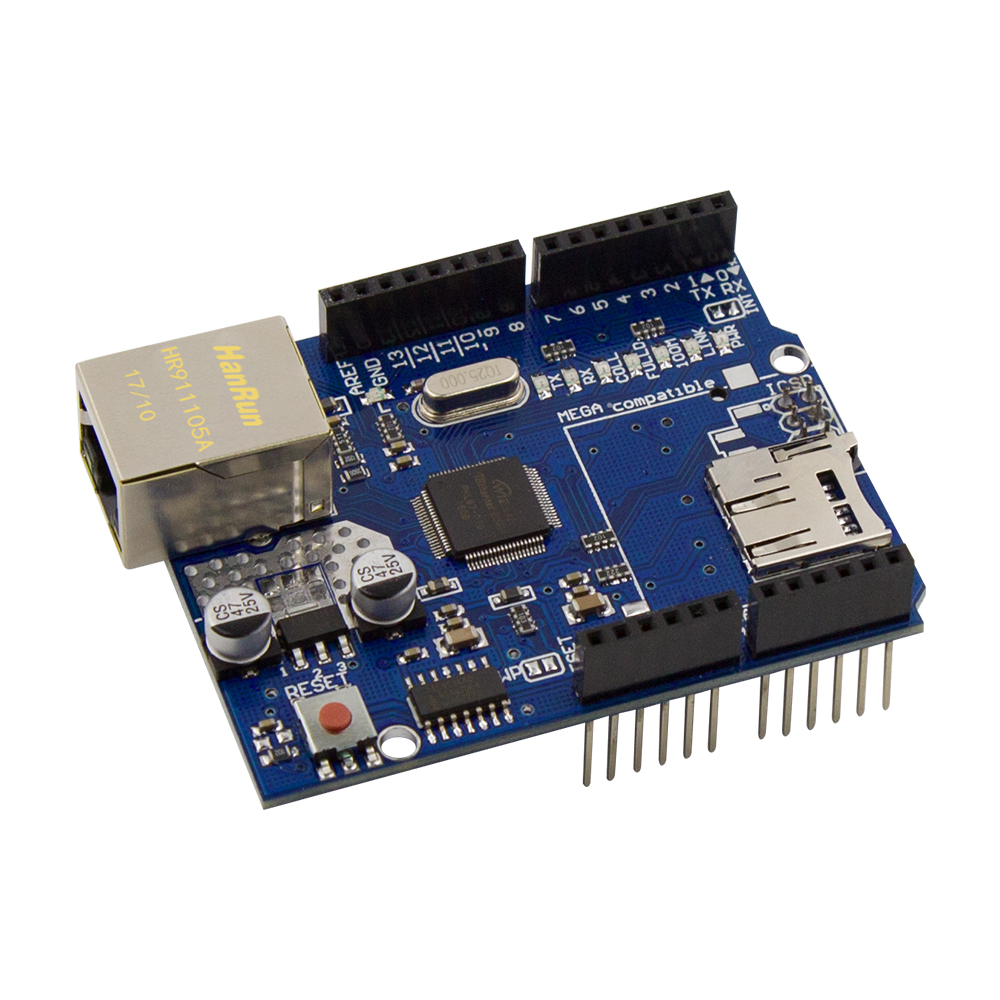 Active Components Electronic Components & Supplies W5100 Ethernet Shield Network Development Board Module For Arduino