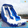 Inflatable Biggors Inflatable Water Slide With Safety Stairs For Sale