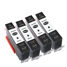 4 Black 564 XL 564XL Compatible ink cartridge For HP Photosmart 5510 5511 5512 5514 5515 5520 5525 6510 6512 6515 6520 7510 7515 2015 new [hisaint]2pk ink cartridge for hp 564xl black photosmart 5510 5514 5515 5520 6520 printer