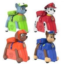 Модный милый детский чемодан на колесиках в форме собаки, детская игрушка в подарок, переноска на колесиках, чемодан на колесиках