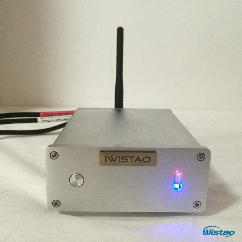 IWISTAO HIFI Bluetooth4.0 Decoder Stereo CSR8670 32-bit DAC AK4490 Hardware Decoding Bluetooth Optical Inputs APT-X iwistao 2x20w hifi amplifier stereo