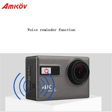 "AMKOV F68 Sport Camera Wifi HD Action Camera 4K 2"" 12MP PC Wide Angle Support Voice Reminder G-SENSOR Underwater Outdoor Camera"
