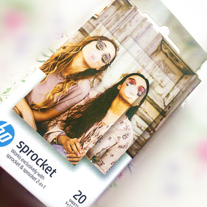 Image 4 - Original photo graphic paper HP sprinket100 200printer printing paper 5x7.6cm(2x3 inches)HP zink paste photo papers 20 /40 Sheet