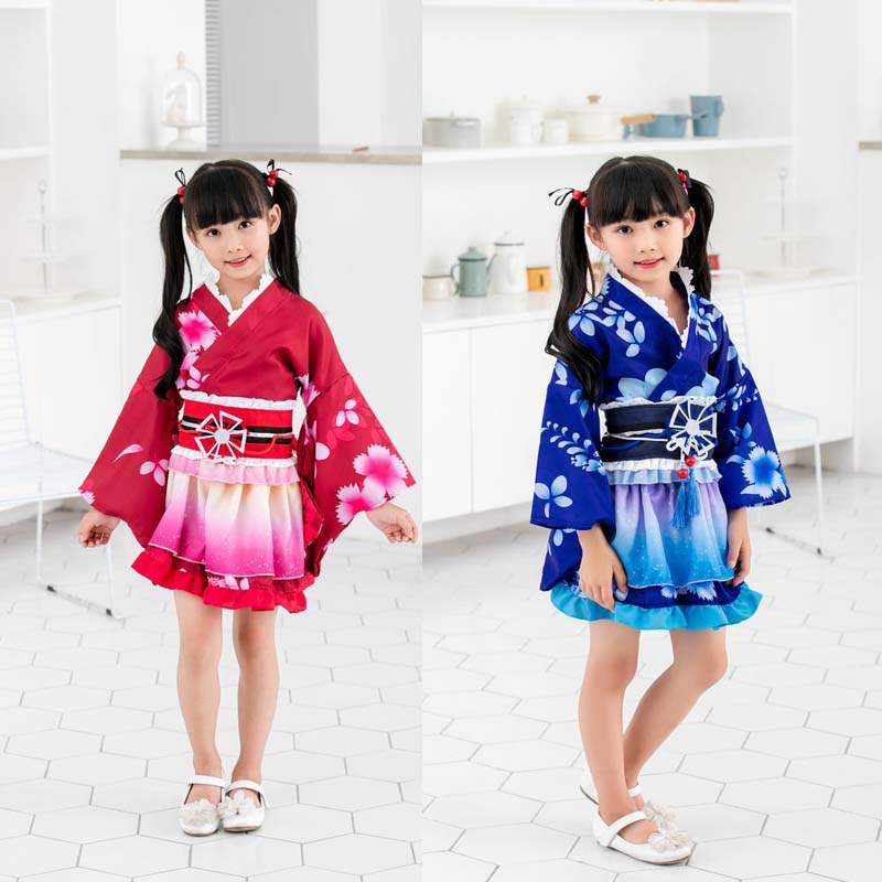 LoveLive Cosplay Sonoda Umi Cosplay Costume Kimono Kids Girls Love Live Nishikino Maki Honoka Honoka Eli Kimono Costumes